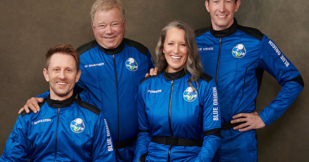 , Who Are William Shatner's Crewmates Aboard the Blue Origin Launch?, The Today News New York