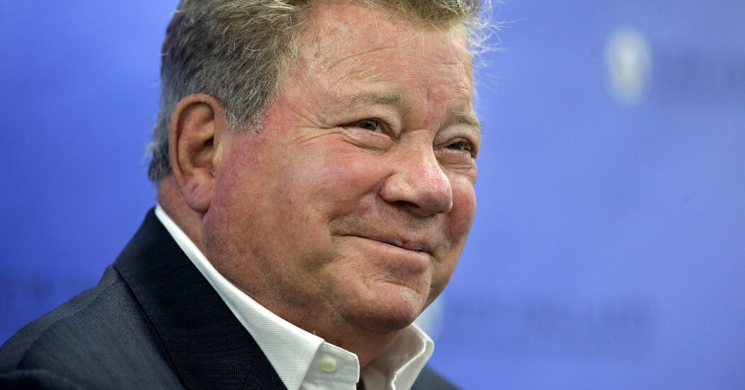 , William Shatner Becomes the Oldest Person to Reach Space, The Habari News New York