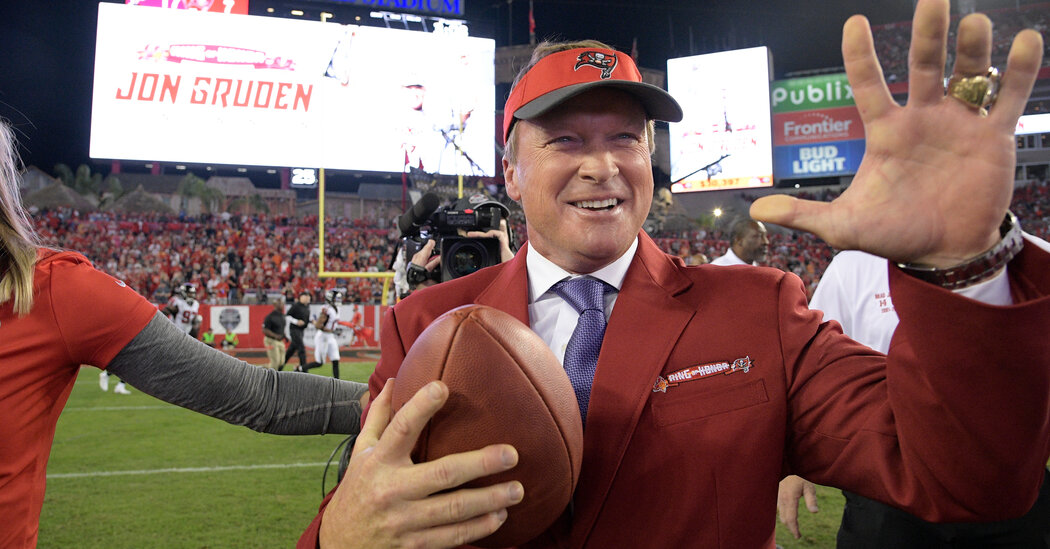 , For Jon Gruden, Former Raiders Coach, Losses Continue to Mount, The Today News New York