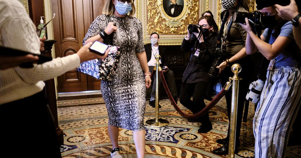 , As Budget Bill Hangs in Limbo, Kyrsten Sinema Heads to Europe, The Habari News New York