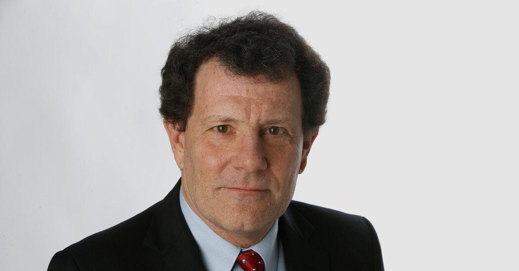 , Nicholas Kristof Leaves The New York Times as He Weighs Political Bid, The Habari News New York