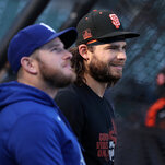 Dodgers and Giants Face Off In Rare Elimination Game Between 100-Win Teams