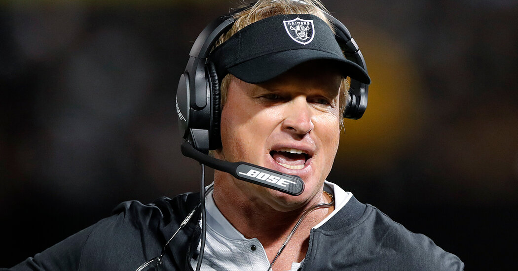 , Answers to Key Questions About Jon Gruden's Emails, The Habari News New York