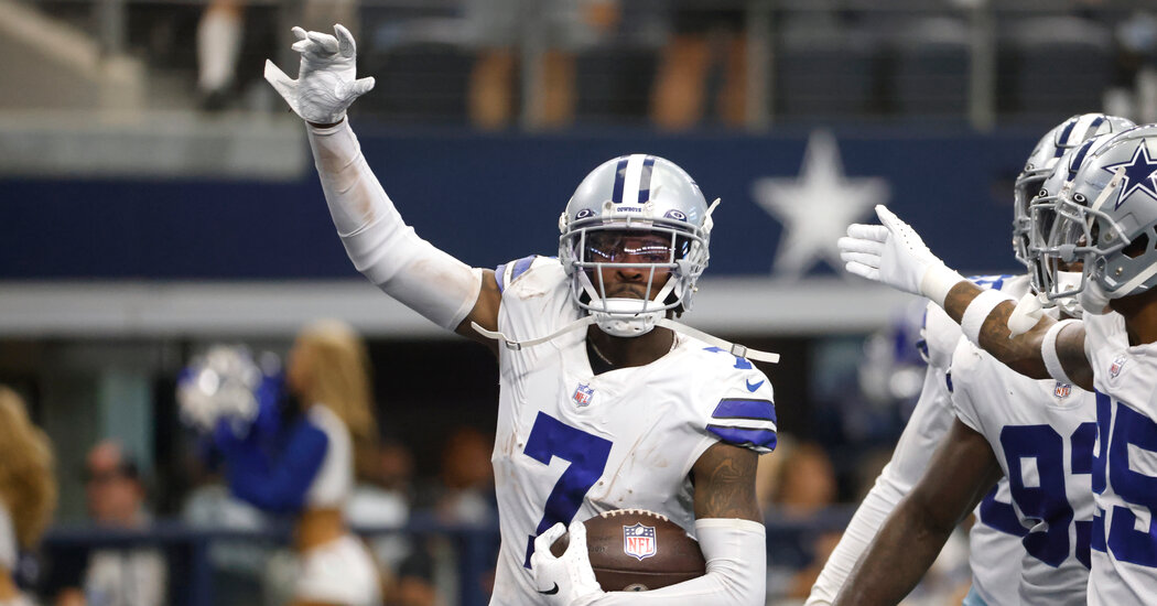 , Cowboys' Trevon Diggs Is Among the N.F.L.'s Breakout Stars, The Habari News New York