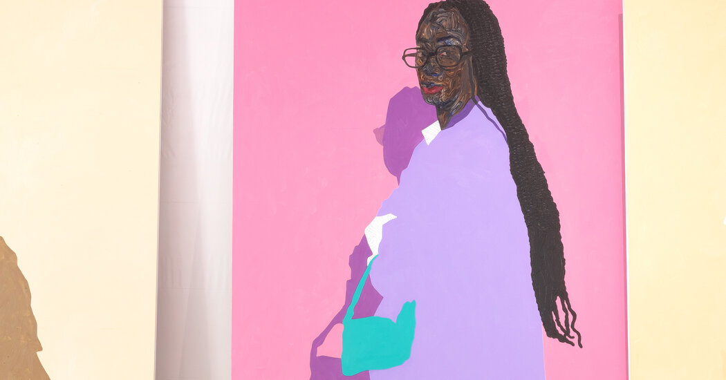 , A Portrait Inspired by the Bright Colors of Los Angeles, The Habari News New York