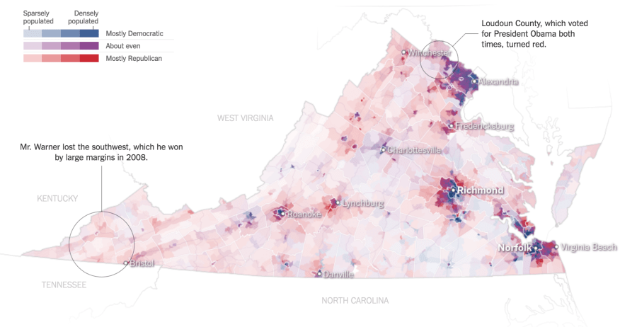 There Are Many Ways to Map Election Results  We ve Tried Most of     There is no perfect election map  In fact  many times geographic data isn t  best represented as a map at all  On election night  The Times s    Big  Board