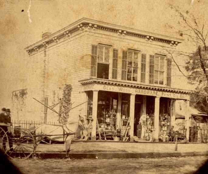Склады Ван Бранта Вайкоффа в Гованусе, Бруклин. ок. 1870 г.