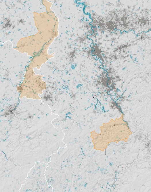 Maps Showing the Extent of the Flooding in Europe 4