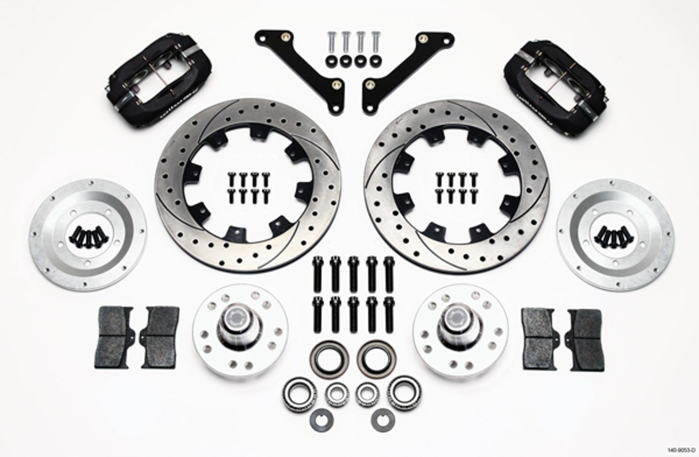 Wilwood 140 D Kit Brake System Dynalite Black