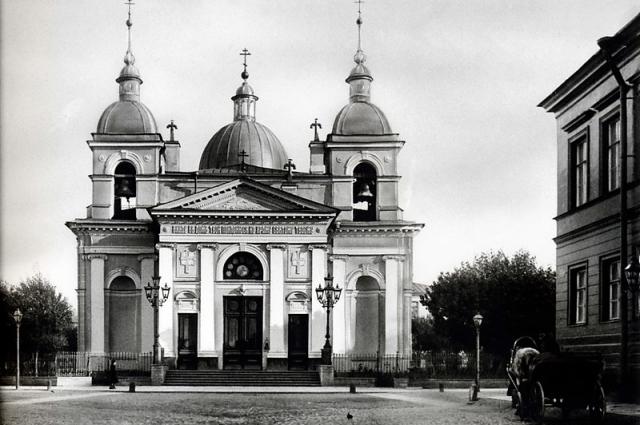 Церковь на Песках разрушили до основания в 1934 году.