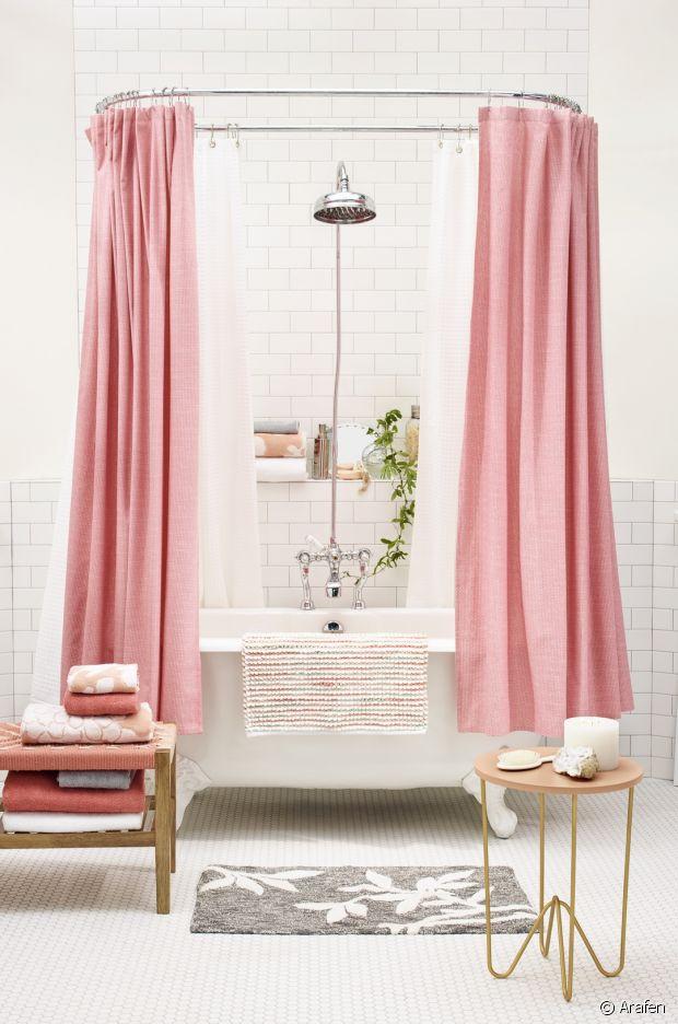 selection de rideaux de douche pour