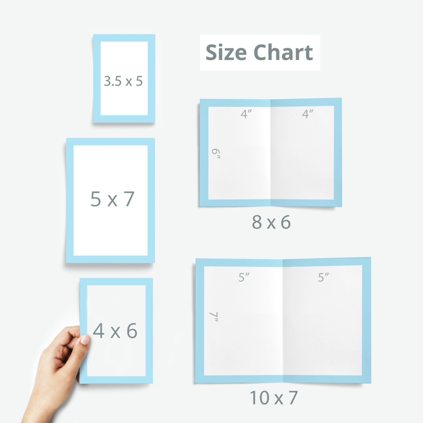 Sizes Of Greeting Cards Image Collections Greetings Card