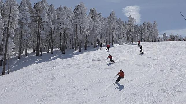 Una gran estación para esquiar en familia
