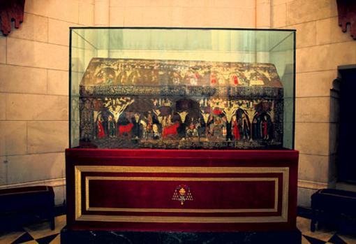 Primera arca mosaica del siglo XIII con los restos de San Isidro