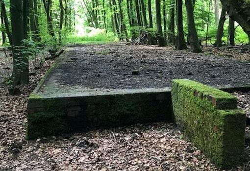 Restos del campo de concentración