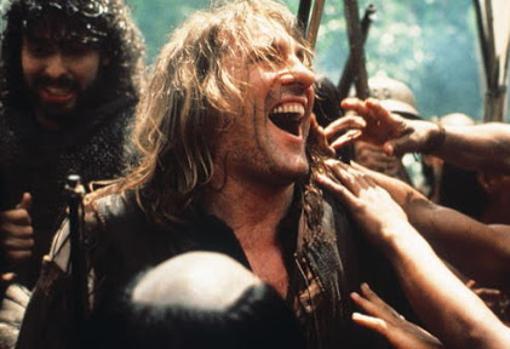Gérard Depardieu, like Columbus, in