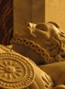 Mausoleo de Don Juan de Austria, diseñado por Ponciano Ponzano.