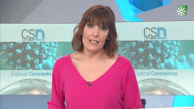 Una de las entregas especiales de Canal Sur Noticias sobre el coronavirus llegó a rozar el 30% de cuota de pantalla