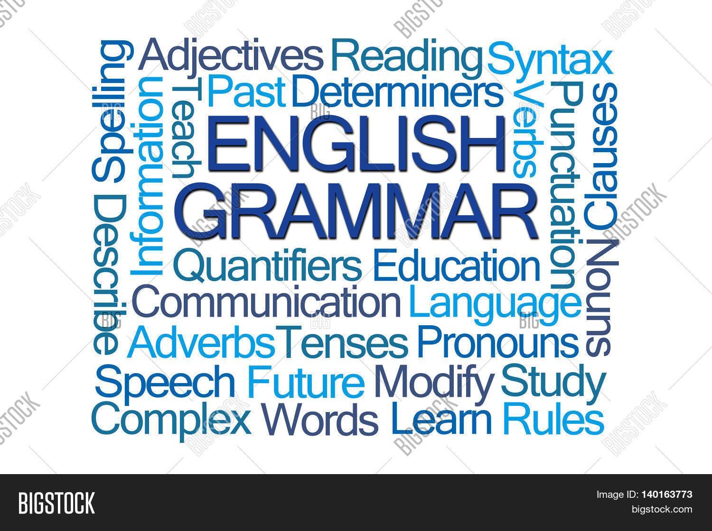 English Grammar Word Image Amp Photo Free Trial