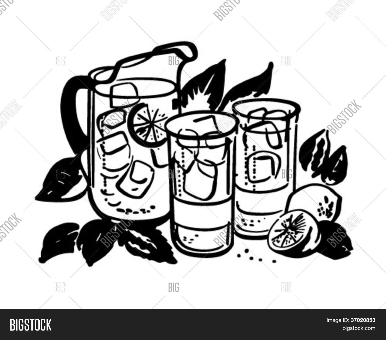 Lemonade Pitcher Glasses
