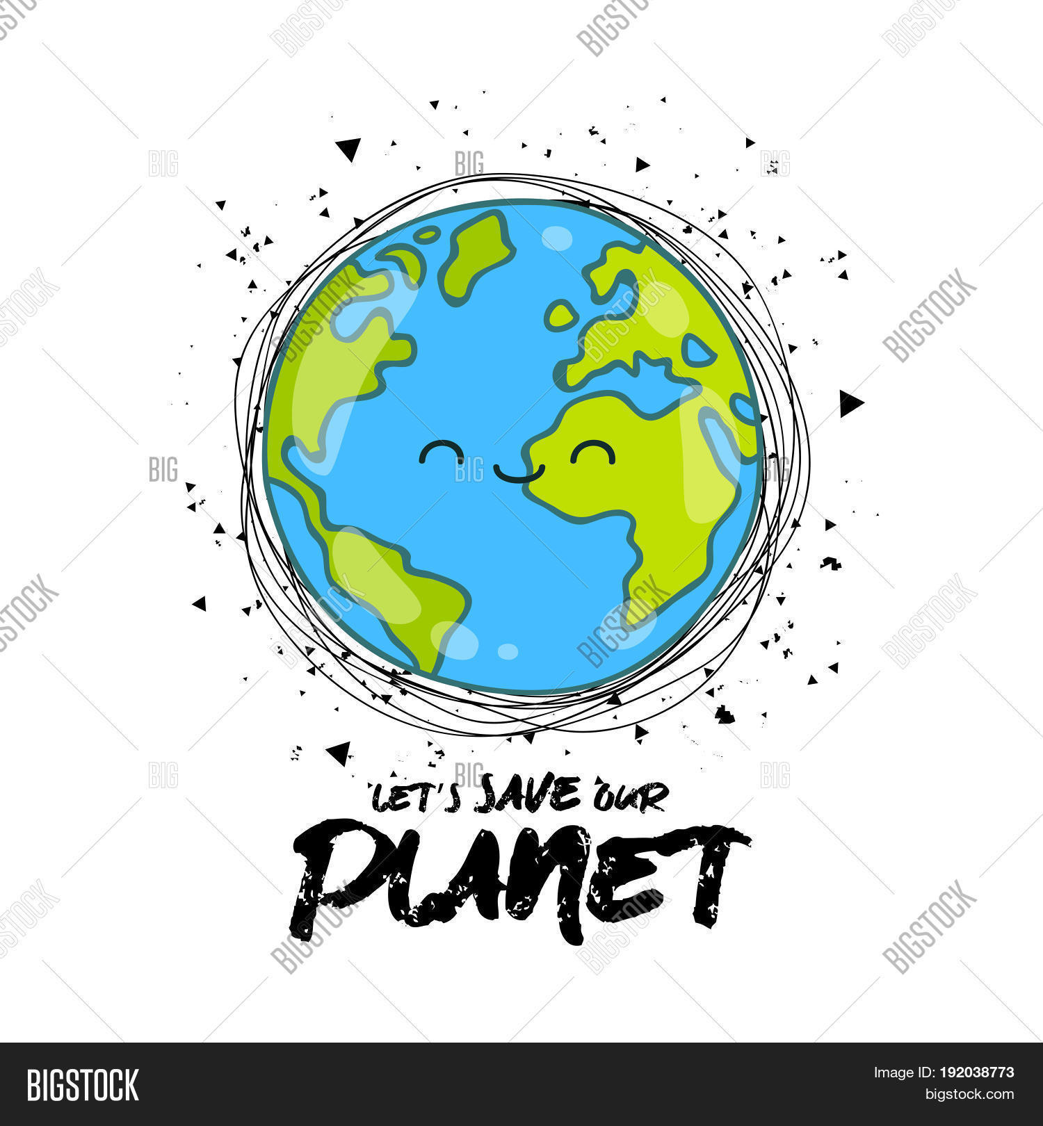 Let S Save Our Planet Vector Amp Photo Free Trial
