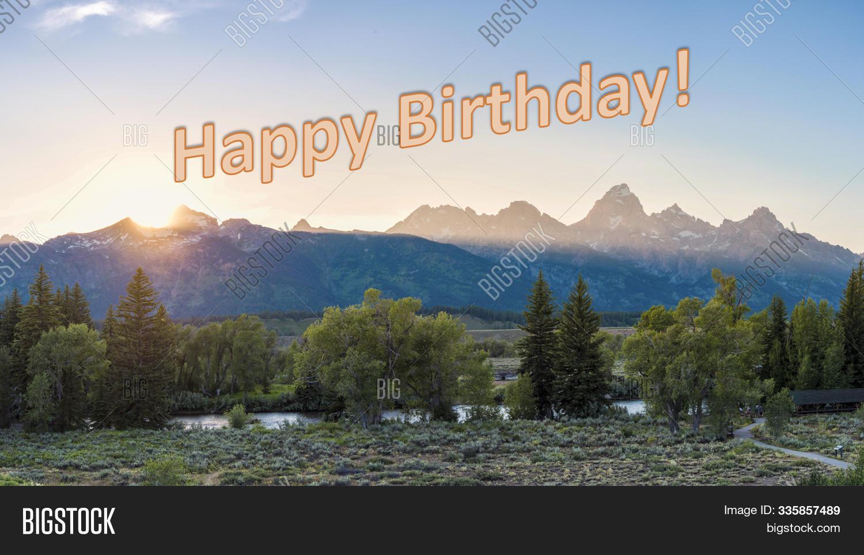 Happy Birthday Nature Image Photo Free Trial Bigstock