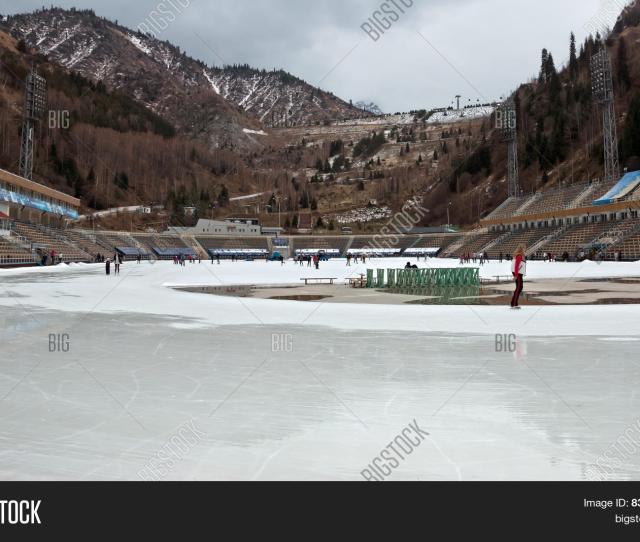 Almaty Medeo Outdoor Stadium