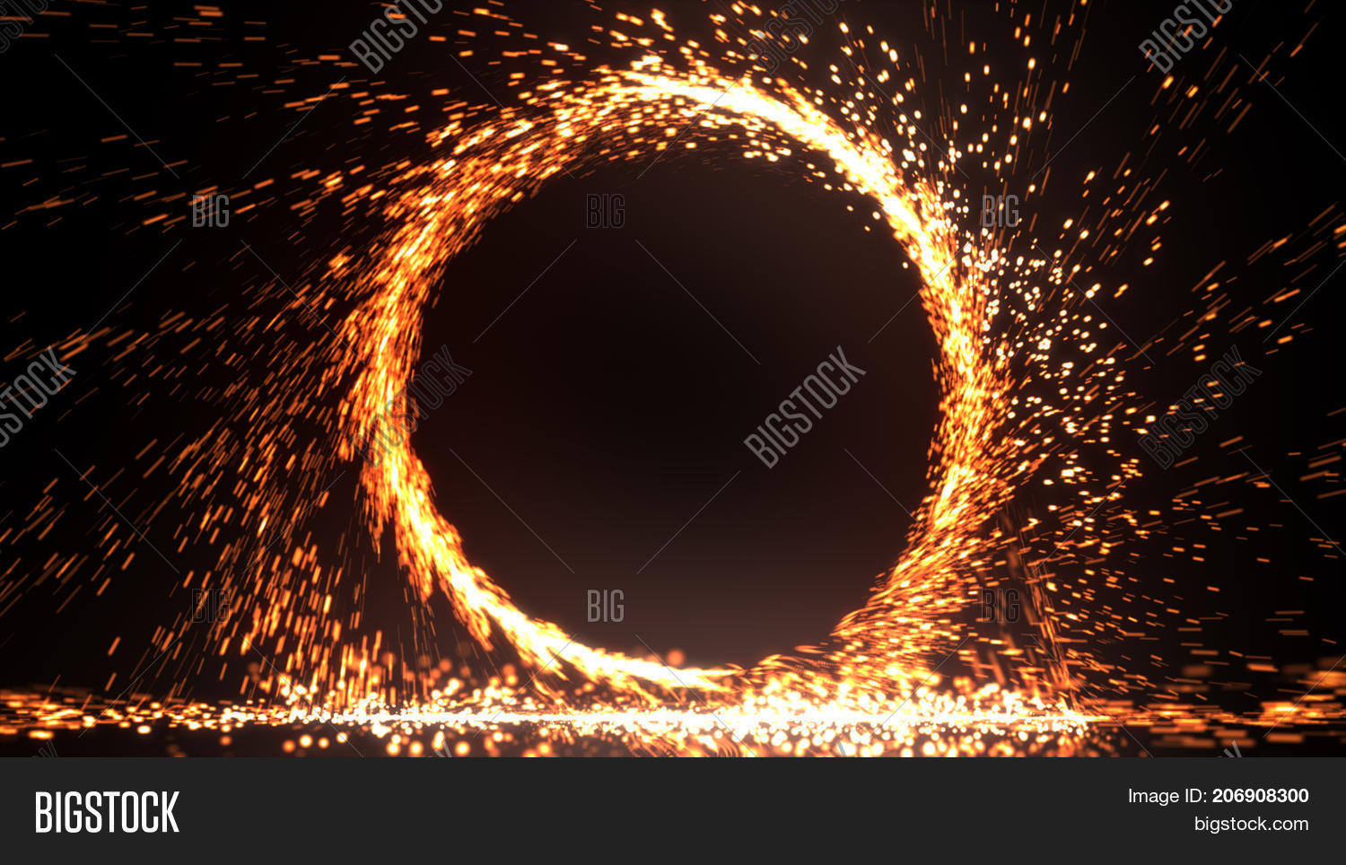 Abstract Fire Ring Image Amp Photo Free Trial