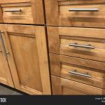 Wood Kitchen Cabinets Image Photo Free Trial Bigstock
