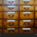 Vintage Wooden Drawer Image Photo Free Trial Bigstock