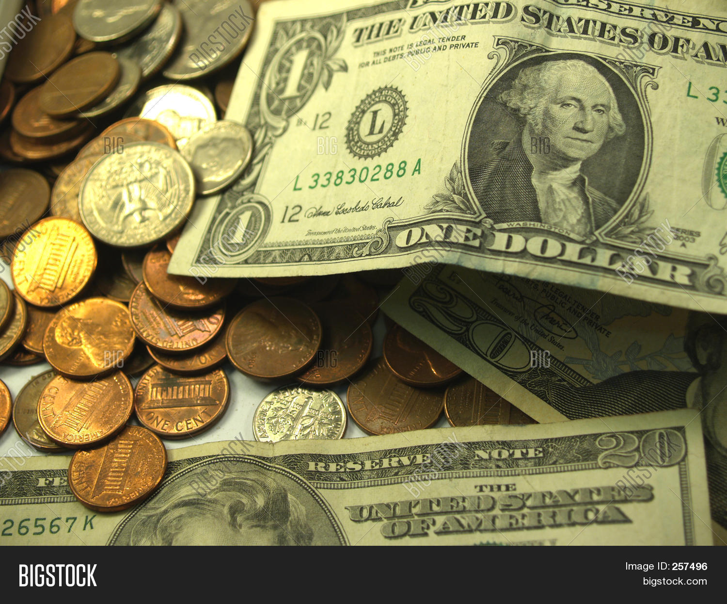 American Coins Bills Image Amp Photo Free Trial