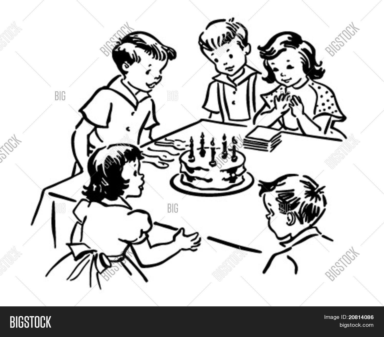 Children S Birthday Vector Amp Photo Free Trial