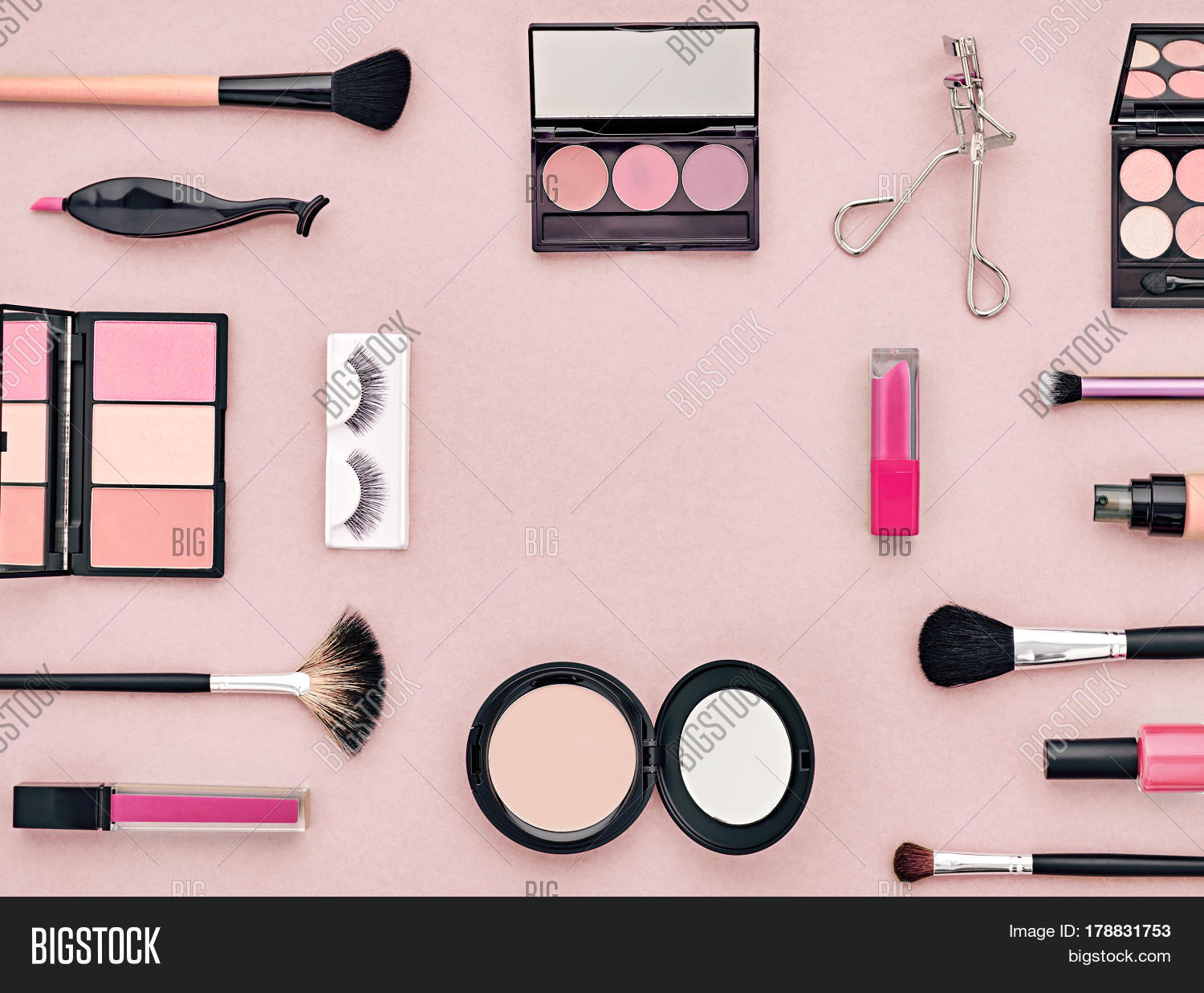 Fashion Cosmetic Image   Photo  Free Trial    Bigstock Fashion Cosmetic Makeup Set  Woman Beauty Accessories Set  Essentials  Makeup  background  Fashion