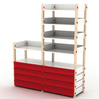 Build Free Standing Storage Shelves""
