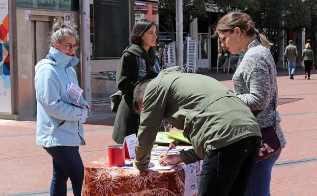 Se recogen firmas para exigir la modificación de las ordenanzas municipales