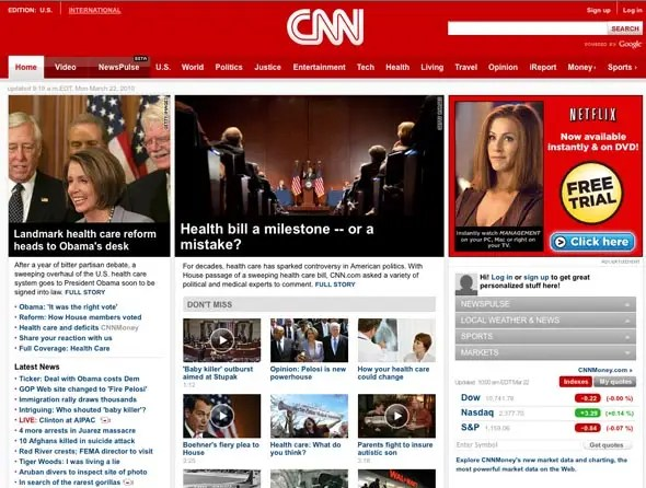 Image result for cnn website