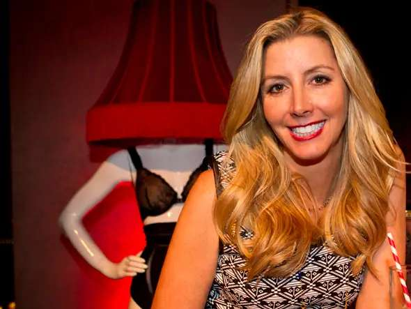 Sara Blakely took a Neiman Marcus buyer into a ladies' restroom to try on her Spanx.