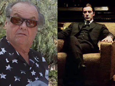 "Jack Nicholson declined an offer to play Michael Corleone in ""The Godfather."""