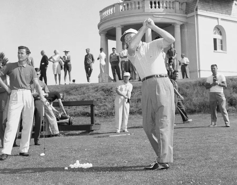 Dwight Eisenhower played a LOT of golf — he spent four out of seven of his Independence Days as president on the links.
