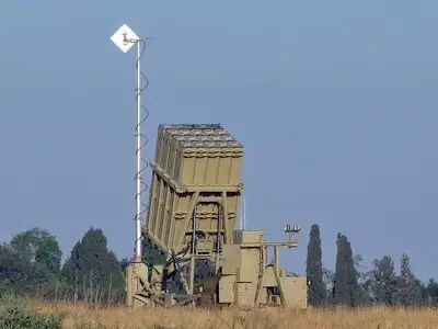 The Iron Dome is the first line of defense