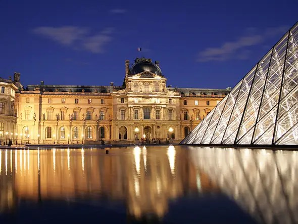 Image result for photo of the louvre paris