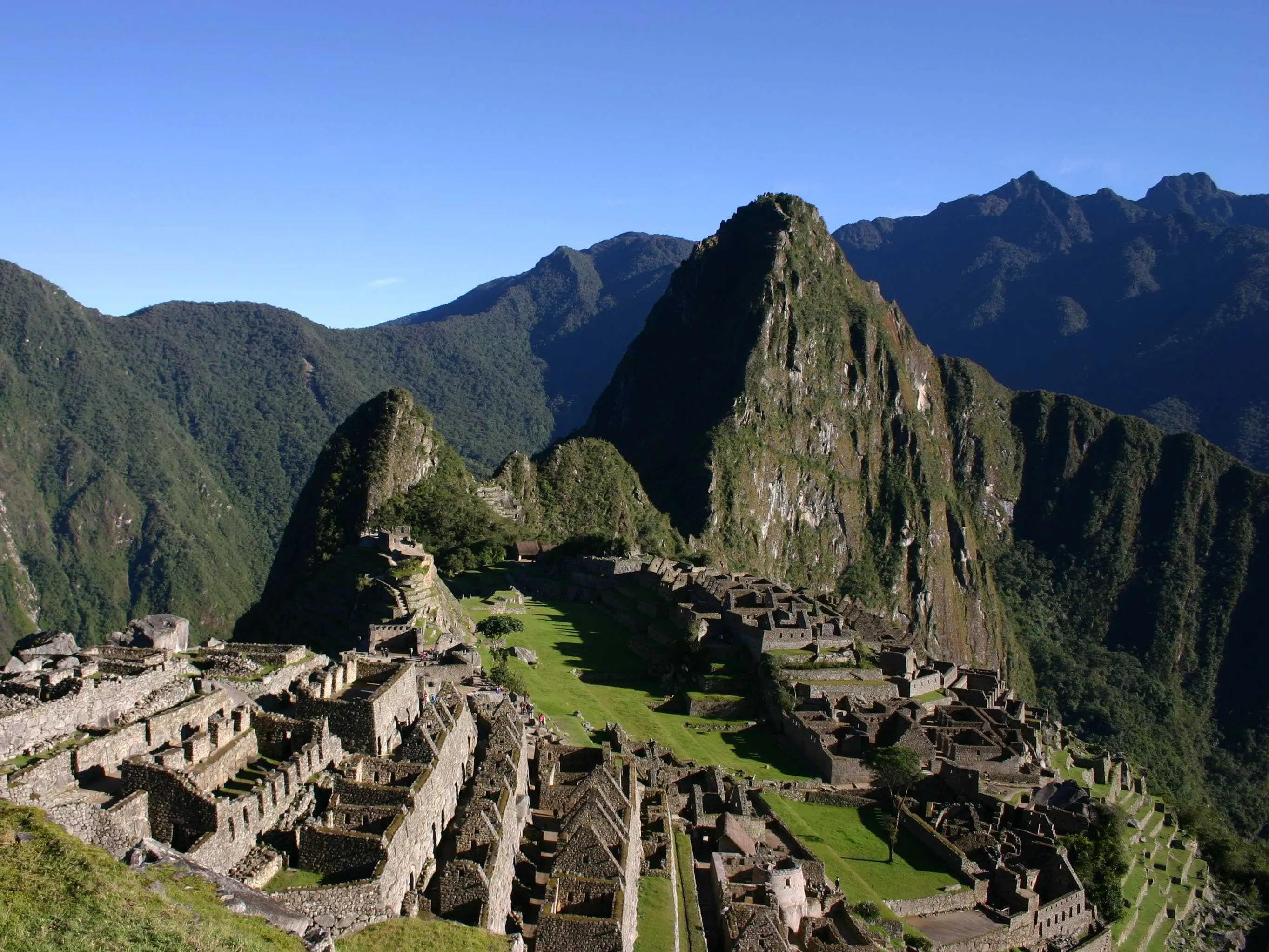 Climb to the top of Huayna Picchu for a bird's-eye view of Machu Picchu.