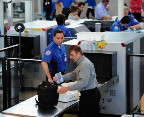 """A photon is going through airport security. The TSA agent asks if he has any luggage. The photon says, """"No, I'm traveling light."""""""