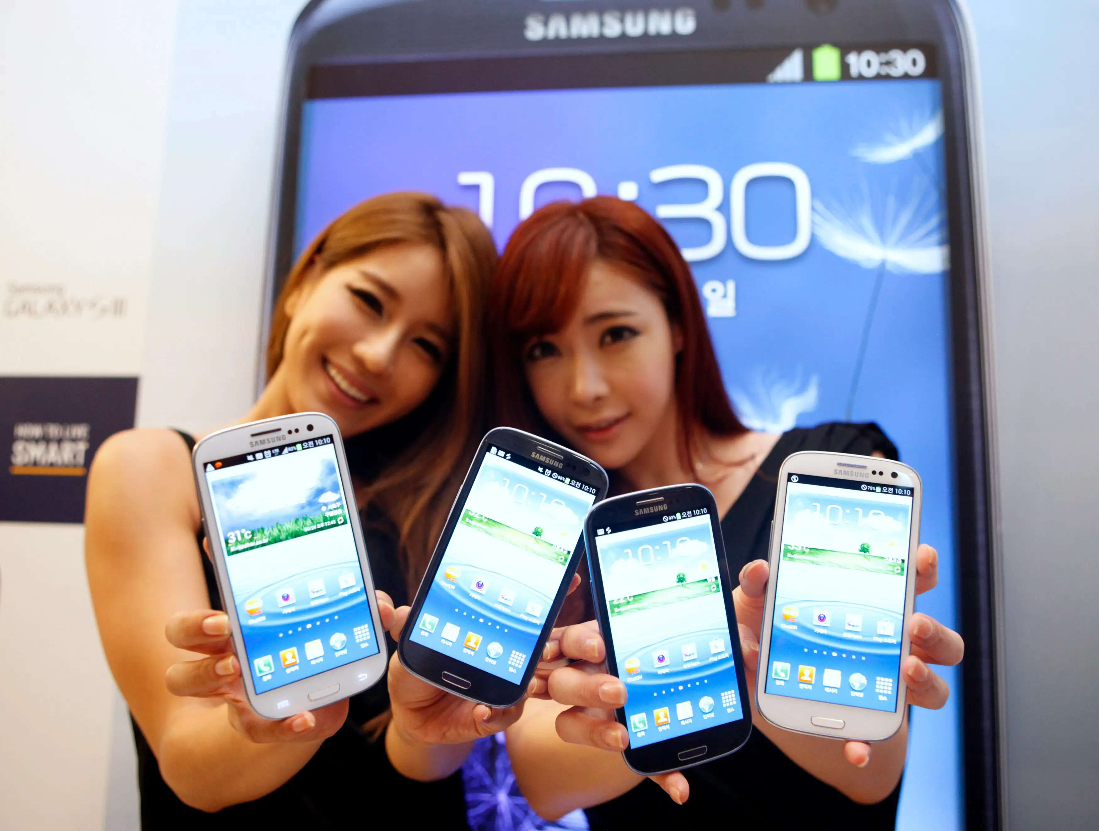 2012 saw the true rise of Samsung as the top Android phone maker on the planet. It released the Galaxy S III, which became the top-selling phone behind the iPhone.