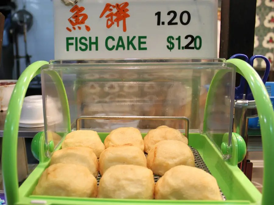 Chinese fish cakes are a quick and savory snack.