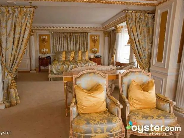 The Royal Suite at The New York Palace:  $17,000/night