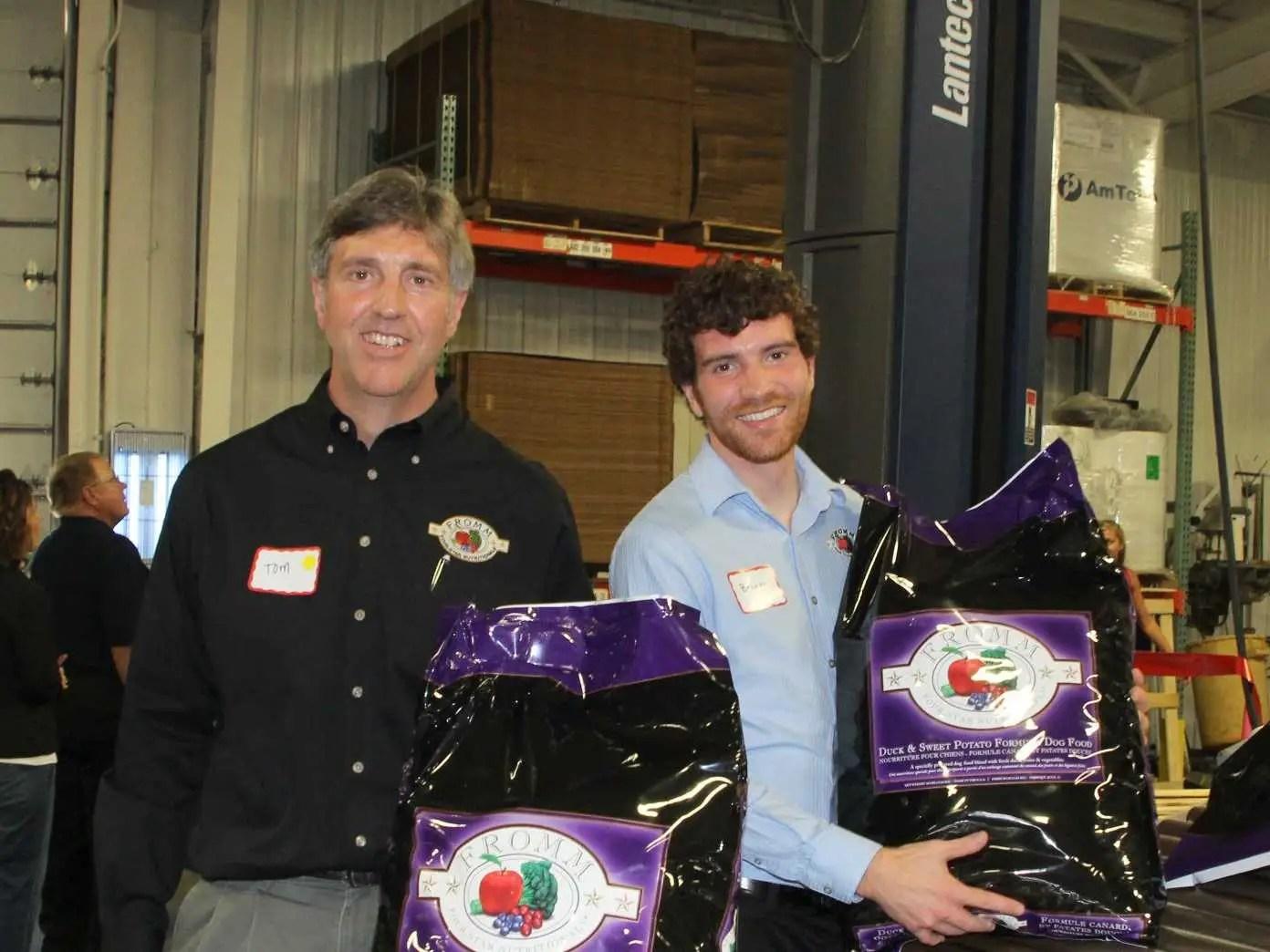 WISCONSIN: Tom Nieman, Owner Fromm Family Foods