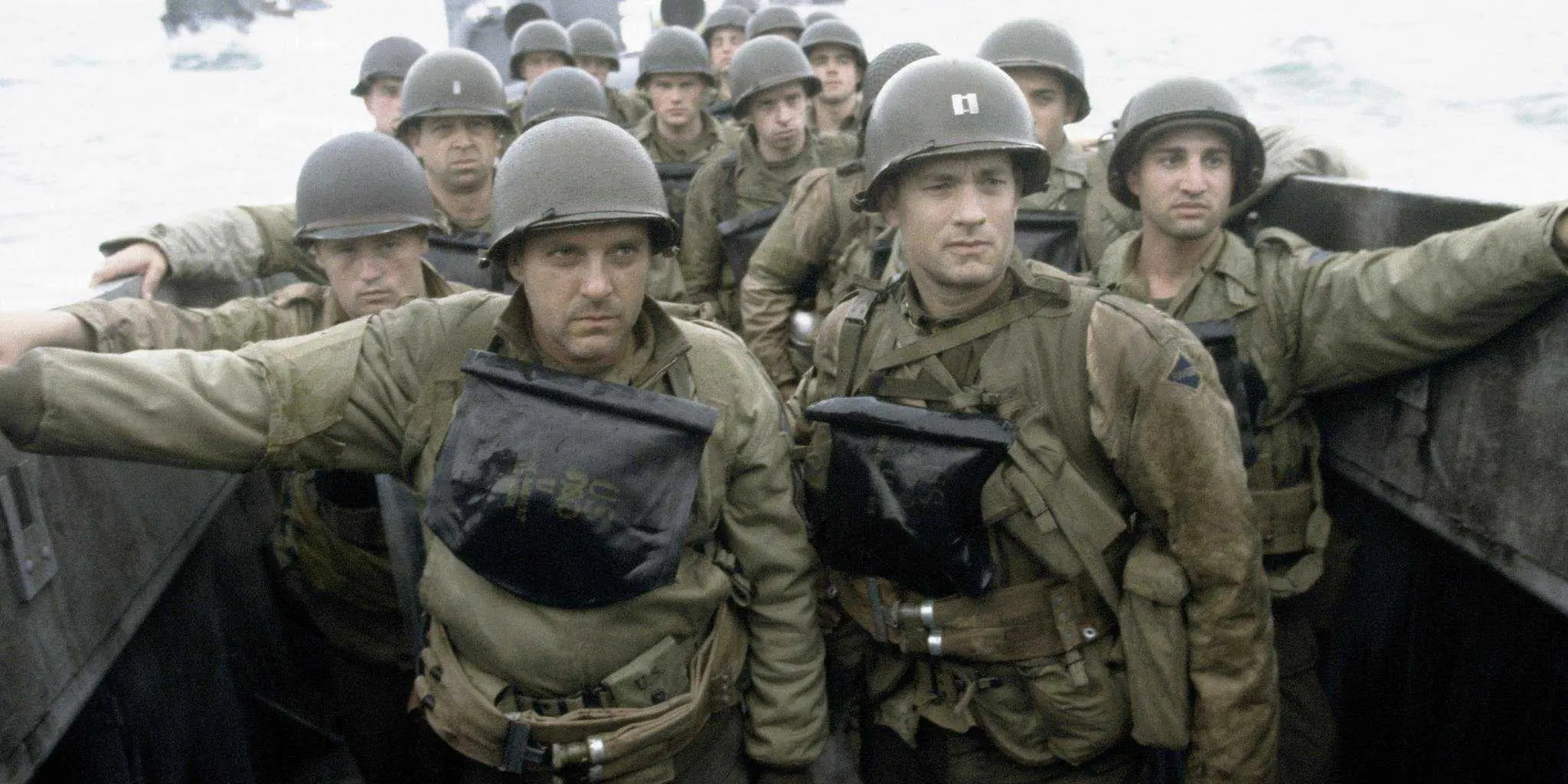 """Saving Private Ryan"" (1998): A World War II (Tom Hanks) makes it his mission to rescue Private Ryan (Matt Damon), the sole survivor among four military sons."