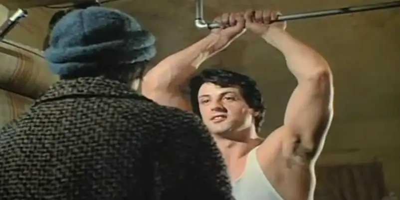 """Rocky"" (1976): In a rag to riches story, an uneducated but kind-hearted small-time boxer (Sylvester Stallone) gets a shot at the world heavyweight championship."