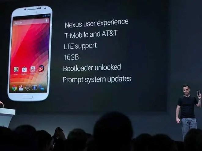 #6 Samsung Galaxy S4 Google Edition